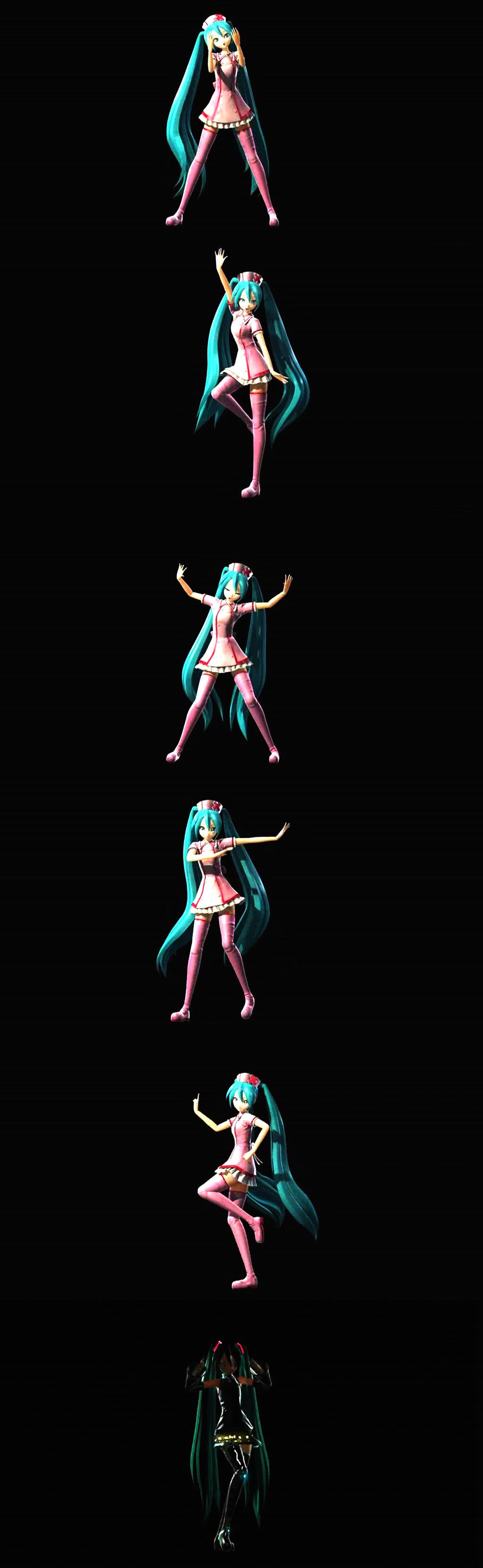 超清卡通3d女孩跳舞视频