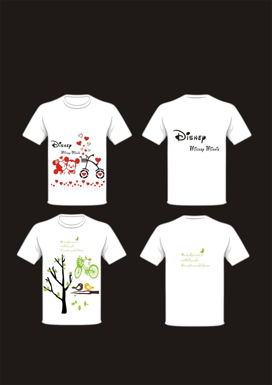 t恤衣服衣服设计