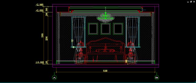 别墅家具图纸 欧式护墙板设计 室内设计 木饰面 芯板造型板 楼梯墙板