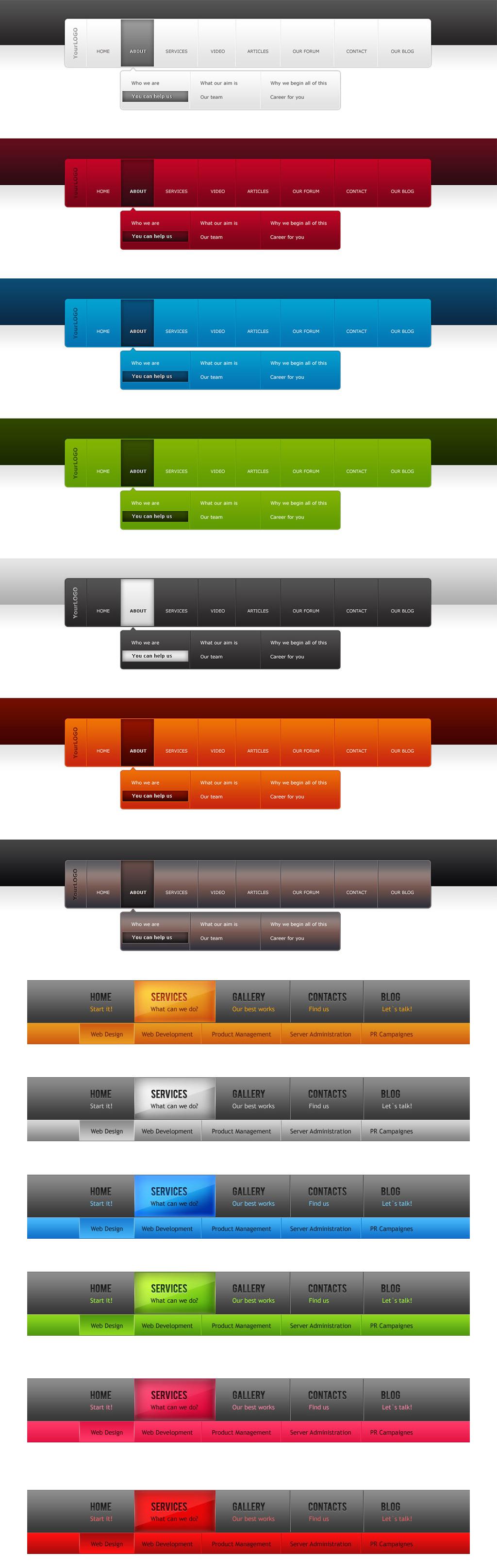 ui设计 网页设计模板 ui设计|界面 > 网页导航菜单栏淘宝网店淘宝详情图片