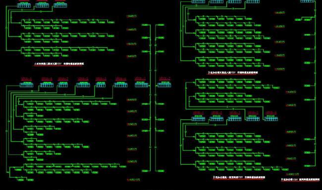vrv空调冷媒系统流程图图片