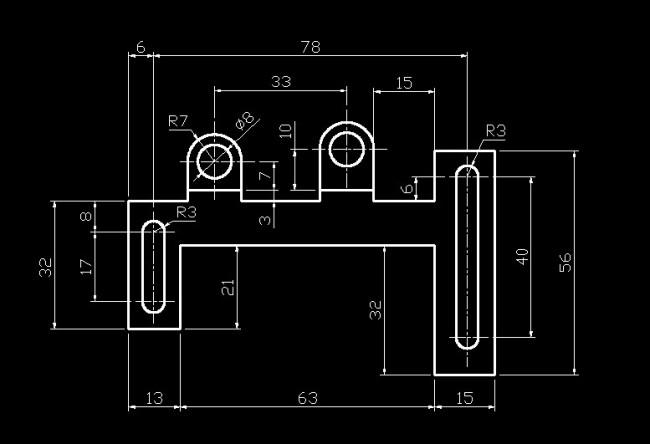 模板下载 机械制图剖面图片下载 机件施工图 cad 平面图 零件透视图