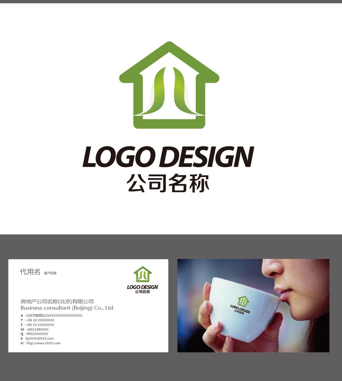 房屋logo设计图片