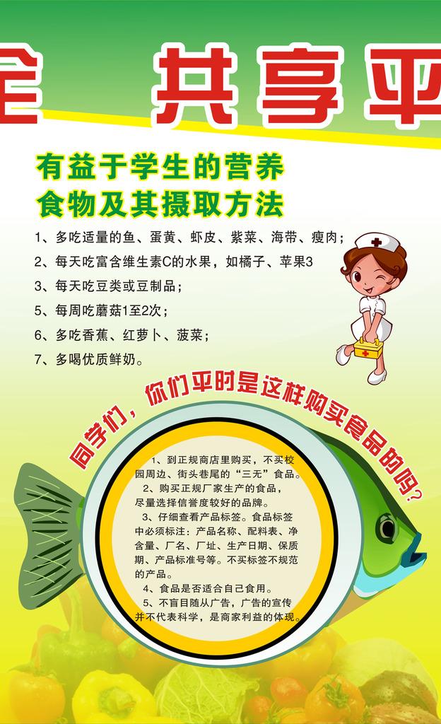 中小学食品安全知识教育宣传栏模板下载(图片编号:)-电梯安全知图片