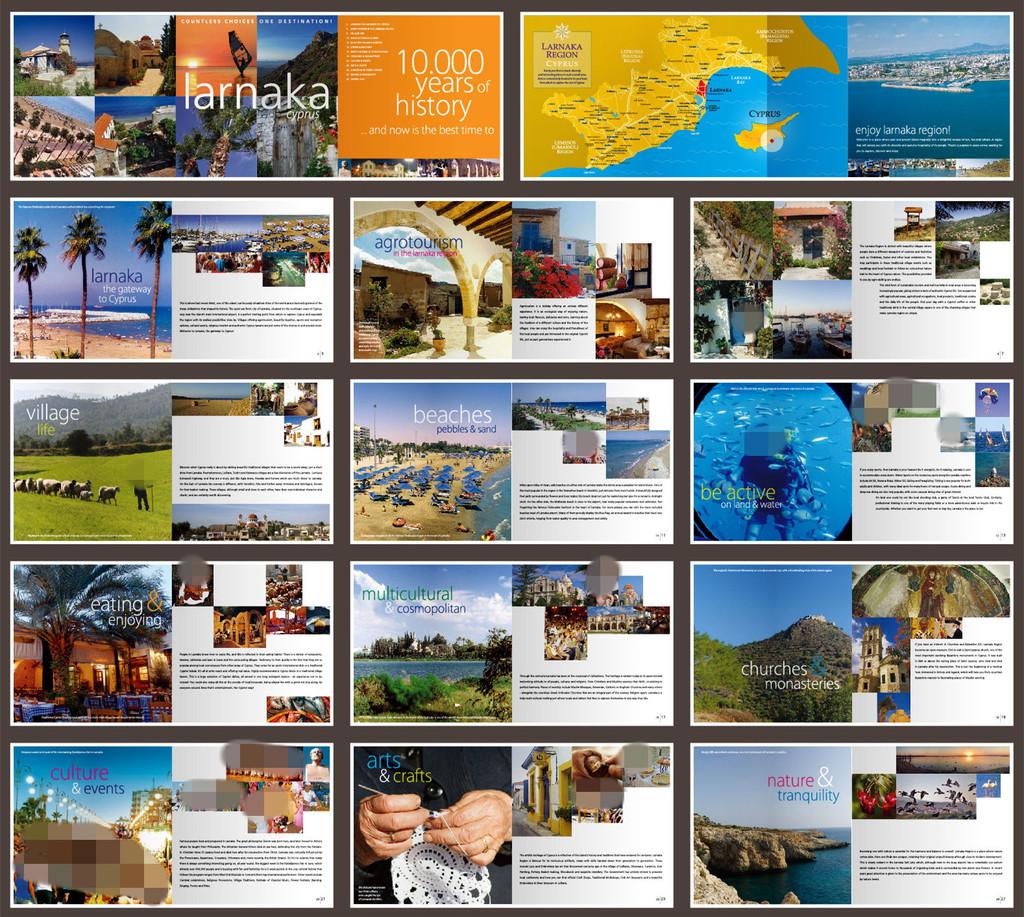 酒店旅游企业宣传画册设计模版模板下载 酒店旅游企业宣传画册设计