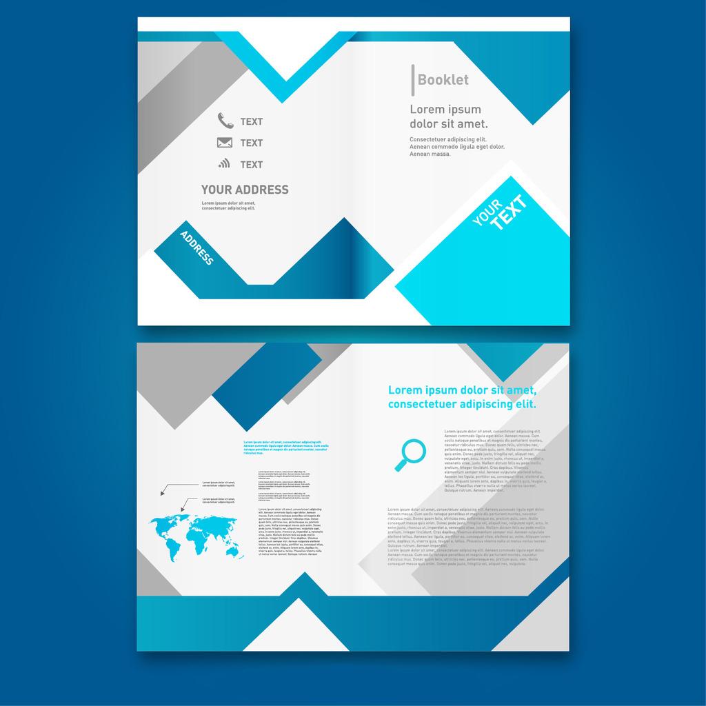 公司三折页设计图片模板下载图片