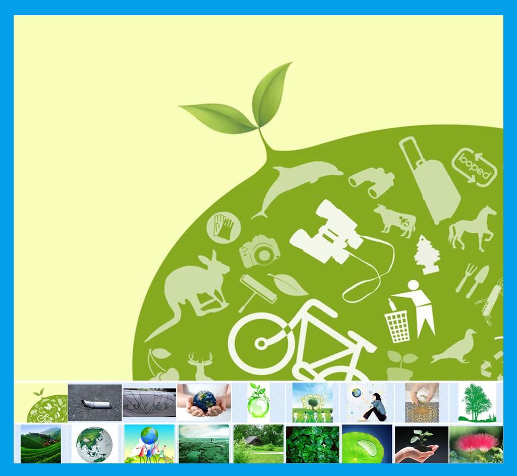 环保ppt图片素材模板下载