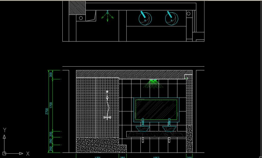 室内装修欧式风格cad施工图纸设计下载