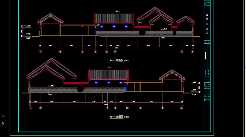 我图网提供精品流行四合院住宅方案CAD设计图素材下载,作品模板源文件可以编辑替换,设计作品简介: 四合院住宅方案CAD设计图,,使用软件为 AutoCAD 2004(.dwg) 四合院住宅方案CAD设计图图片下载 四合院住宅方案CAD设计图全套别墅三层CAD施工图纸图片下载 别墅设计素材 别墅各个平面布置图 别墅立面图