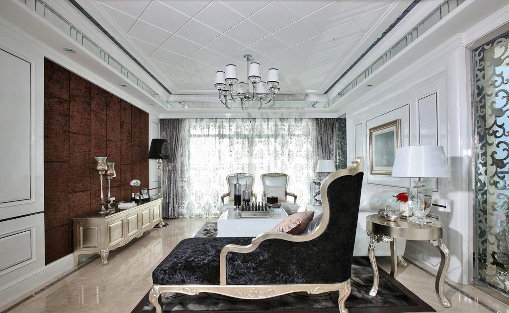 欧式古典风格家装设计完整施工图+实景图