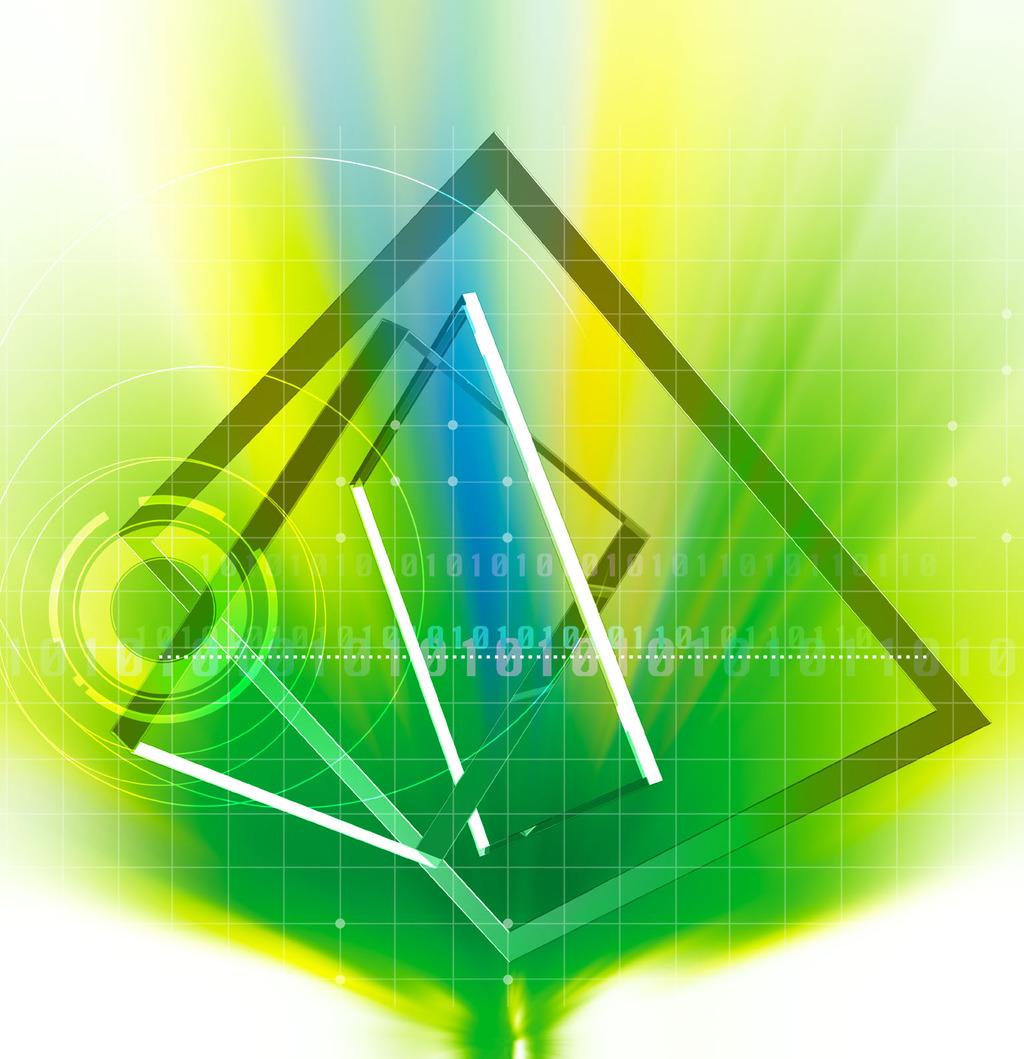 立体空间海报模板素材图片下载 立体空间 数型交叉 绿格子背景 宣传
