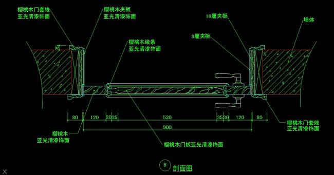 室内设计 cad图库 节点详图cad图纸 > 实木门生产纸  下一张&g