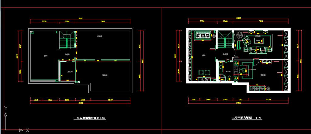 室内装修cad施工图3设计下载图片