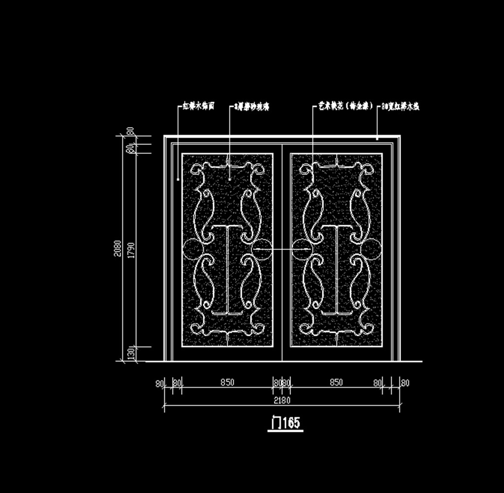 cad欧式门模板下载(图片编号:12179873)