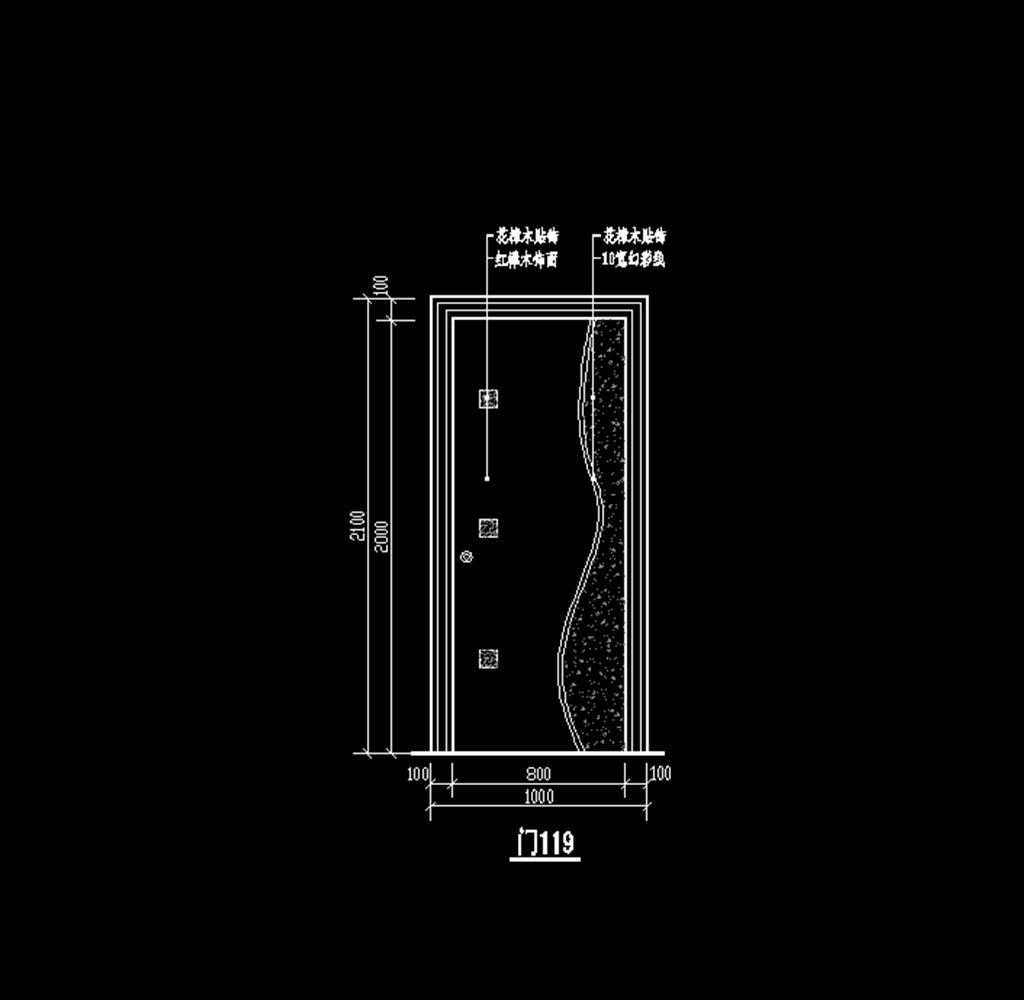 cad欧式雕花门图纸模板下载(图片编号:12179944)