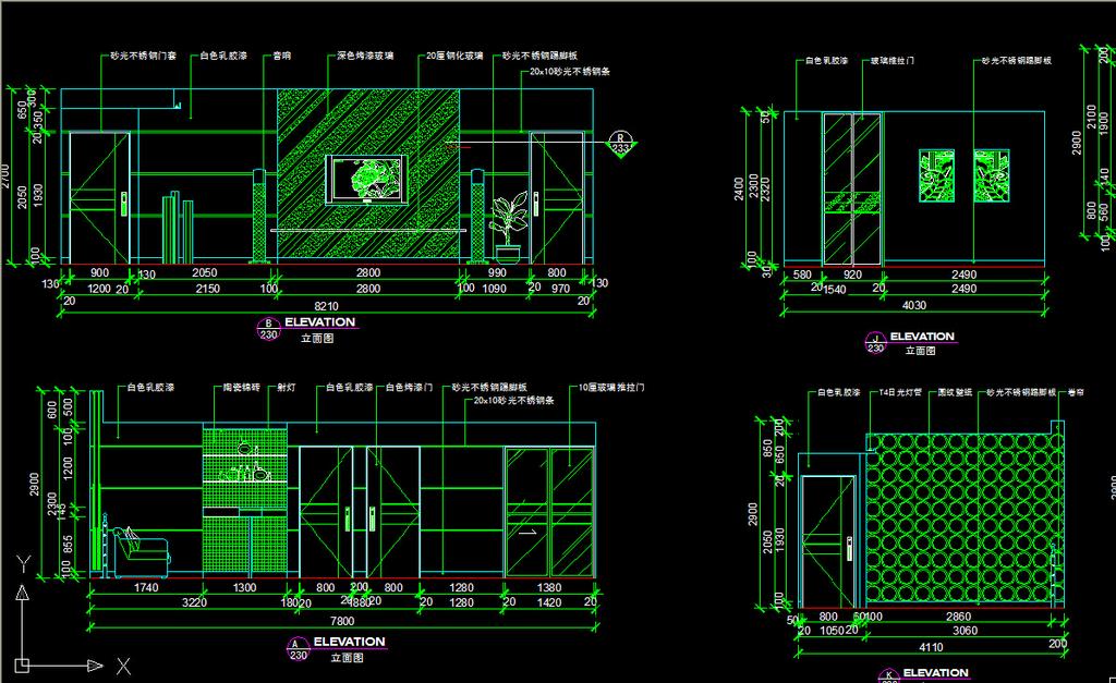 我图网提供精品流行 两室一厅室内设计cad图纸素材 下载,作品模板源文件可以编辑替换,设计作品简介: 两室一厅室内设计cad图纸, , 使用软件为 AutoCAD 2004(.dwg) 两室两厅cad全套详细施工图纸 所有图纸目录 包括各造型的立面图 整个cad施工图 详图等 天花吊顶图 平面方案图 两室一厅室内图纸设计模板下载