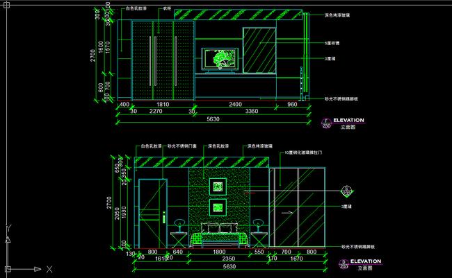 我图网提供精品流行两室一厅室内设计cad图纸素材下载,作品模板源文件可以编辑替换,设计作品简介: 两室一厅室内设计cad图纸,,使用软件为 AutoCAD 2004(.dwg) 两室两厅cad全套详细施工图纸 所有图纸目录 包括各造型的立面图 整个cad施工图 详图等 天花吊顶图 平面方案图 两室一厅室内图纸设计模板下载