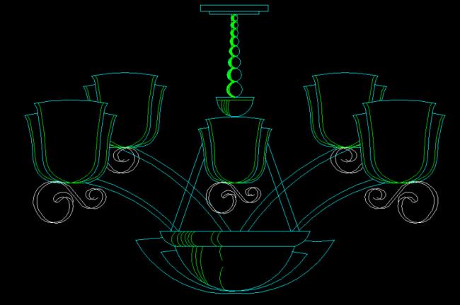 欧式吊灯设计模板下载(图片编号:12183980)