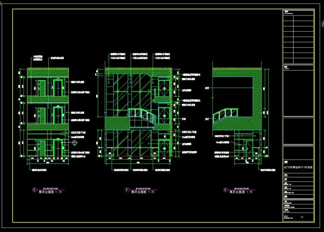 洗浴中心cad装修施工图模板下载