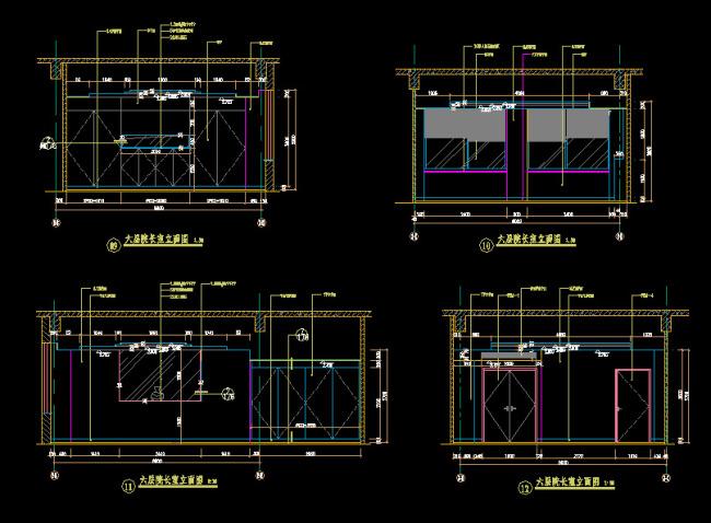 cad立面图模板下载 cad立面图图片下载