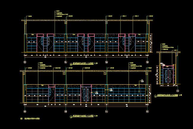 楼房楼梯走道平面设计图