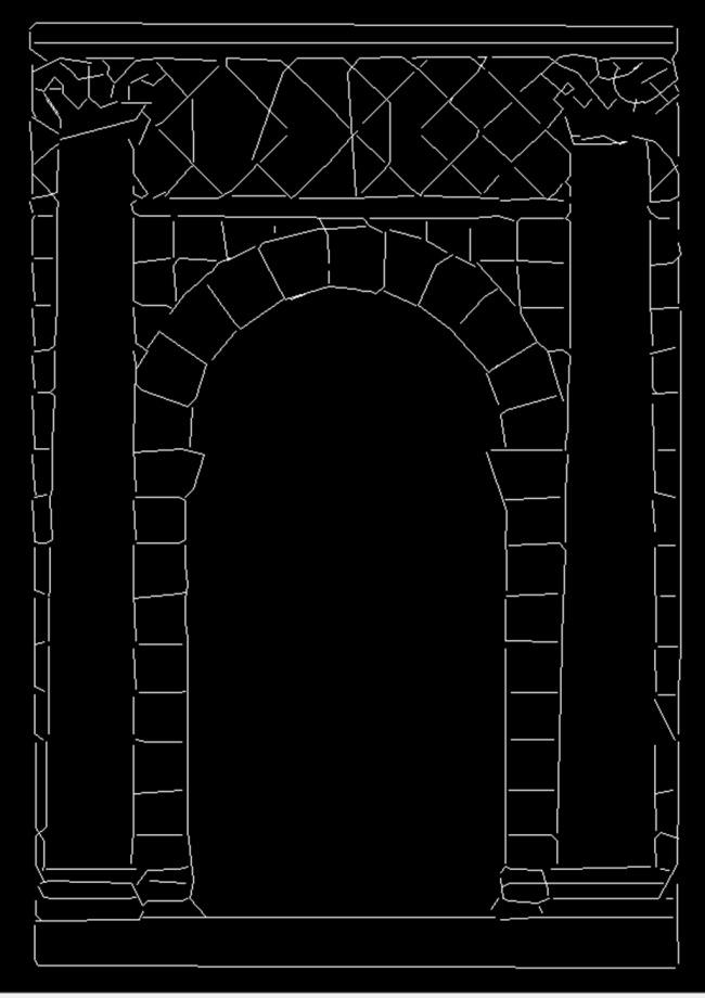 室内立面图画框手绘