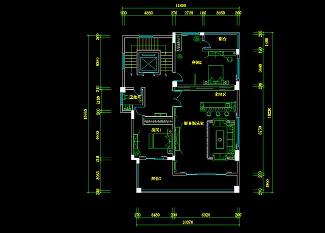 园林规划道路平面设计图  平面设计 房地产 名片 > 工程建筑装修装潢