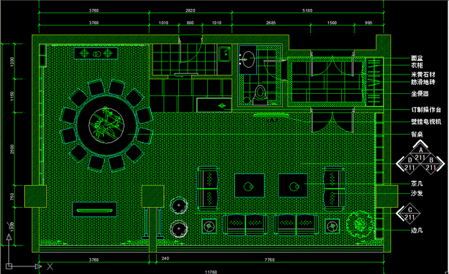 我图网提供精品流行酒店饭店豪华包厢CAD施工图下载素材下载,作品模板源文件可以编辑替换,设计作品简介: 酒店饭店豪华包厢CAD施工图下载,,使用软件为 AutoCAD 2004(.dwg) 餐厅包房CAD图纸设计附施工材质文字说明图片下载 餐厅包间立面图 装饰墙立面图 餐厅包房背景墙 餐厅墙立面图 酒店包房 中式包厢CAD施工图