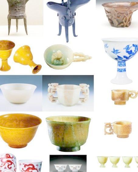 古代杯子图片