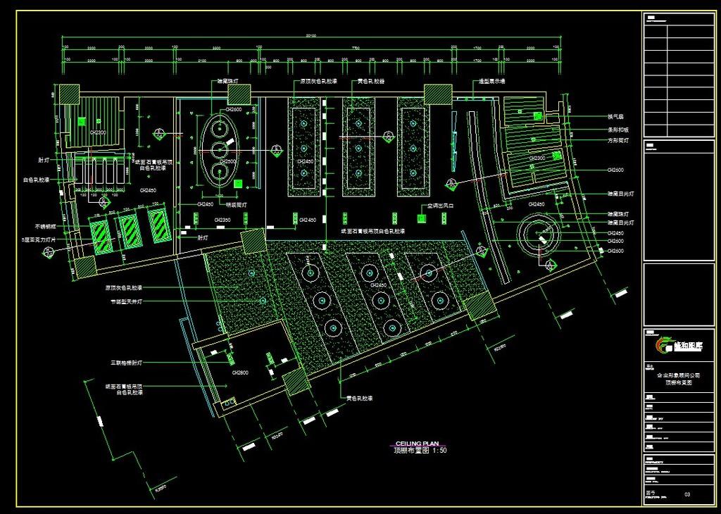 大型办公室cad图模板下载 大型办公室cad图图片下载