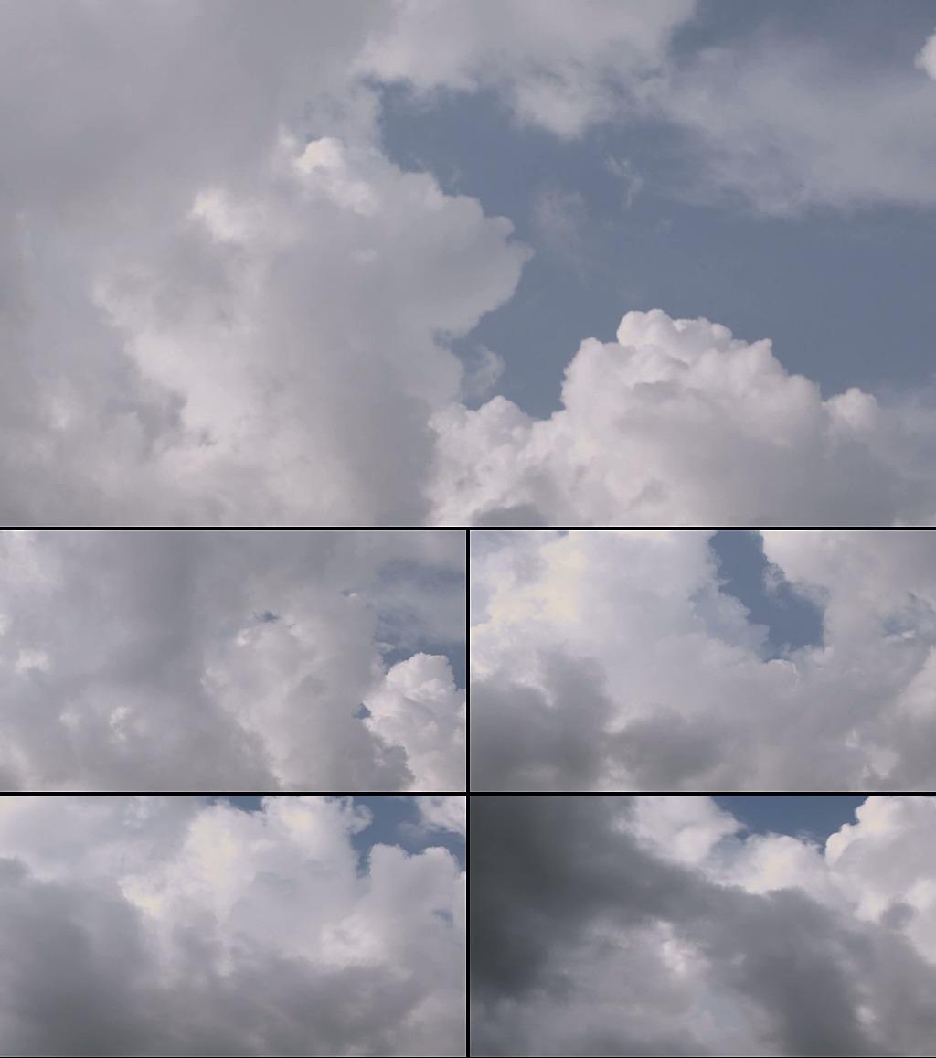 蓝天白云高清动态视频