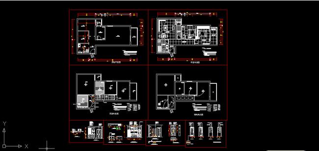 我图网提供精品流行室内装修小户型CAD施工图纸设计素材下载,作品模板源文件可以编辑替换,设计作品简介: 室内装修小户型CAD施工图纸设计,,使用软件为 AutoCAD 2004(.dwg) 家居 原始图 家具布置平面图 天花吊顶顶棚图 地面铺设图 电路布置图 图库 图块下载 书柜衣柜立面图 背景墙 门图