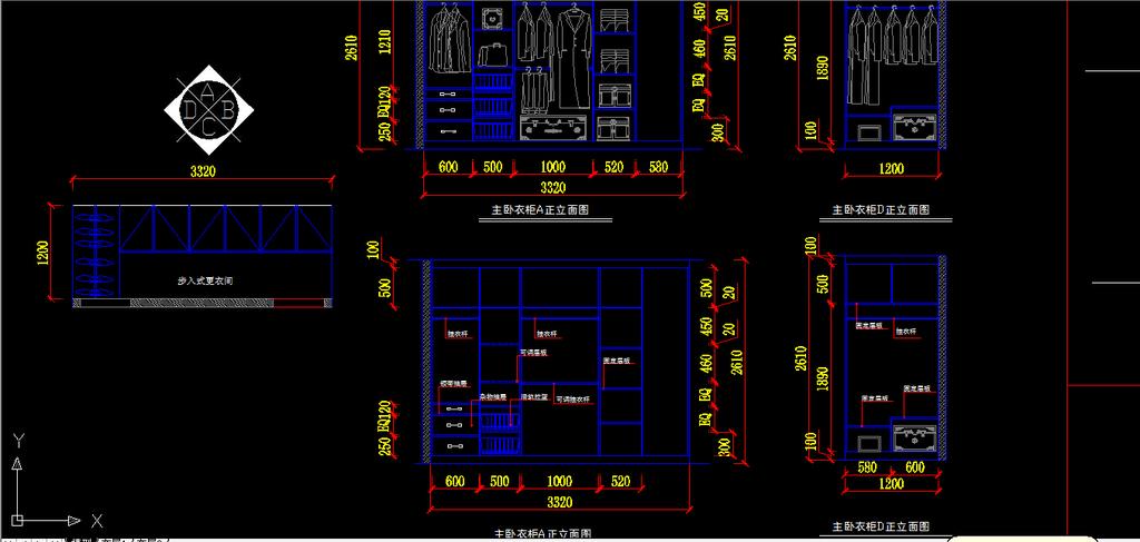 我图网提供精品流行室内装修小户型CAD施工图纸设计素材下载,作品