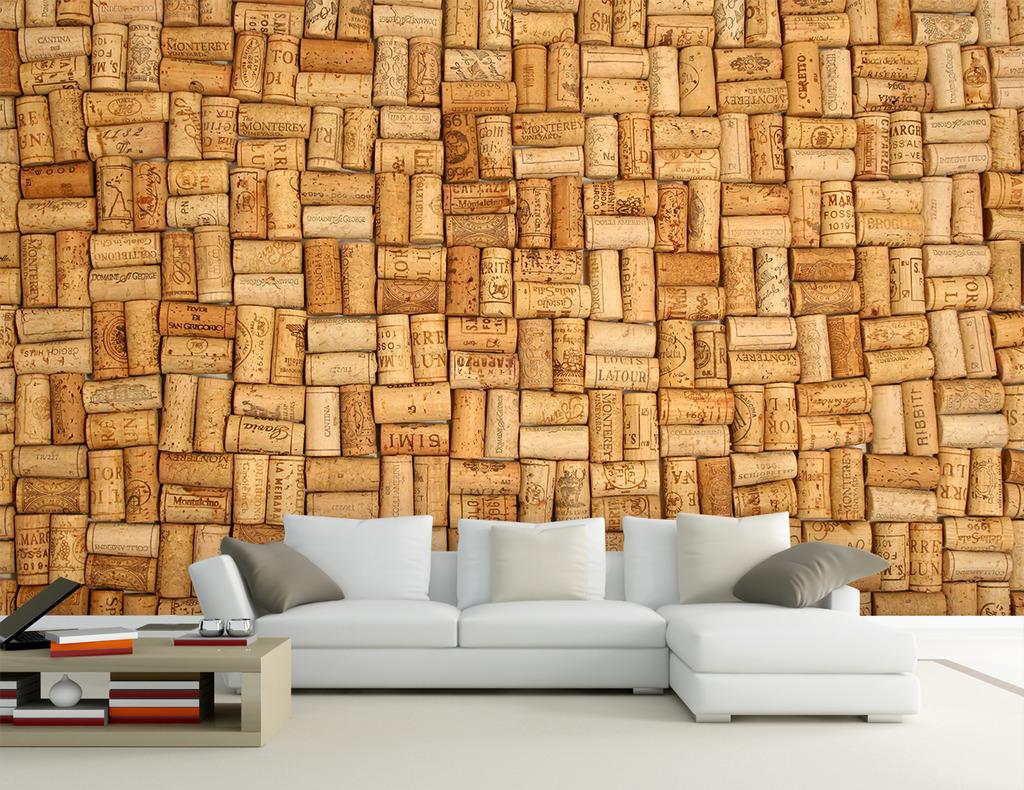 欧式高档3d客厅电视沙发背景墙