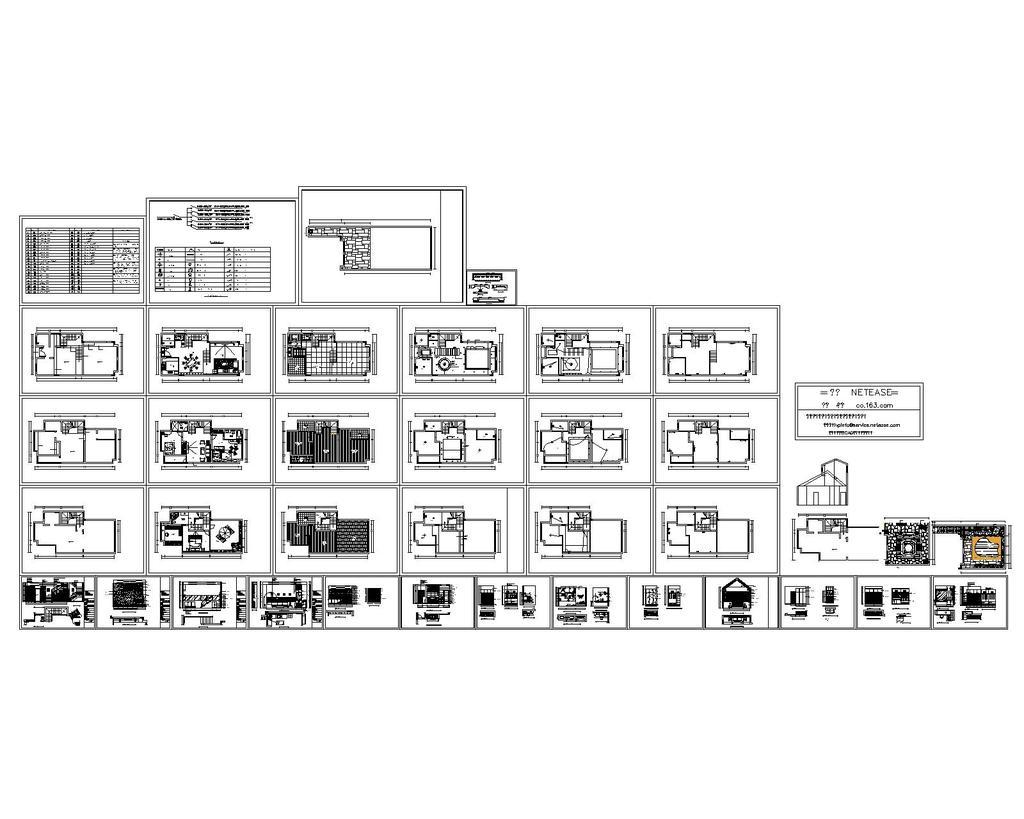 新城别墅装修设计_cad图纸设计下载模板下载