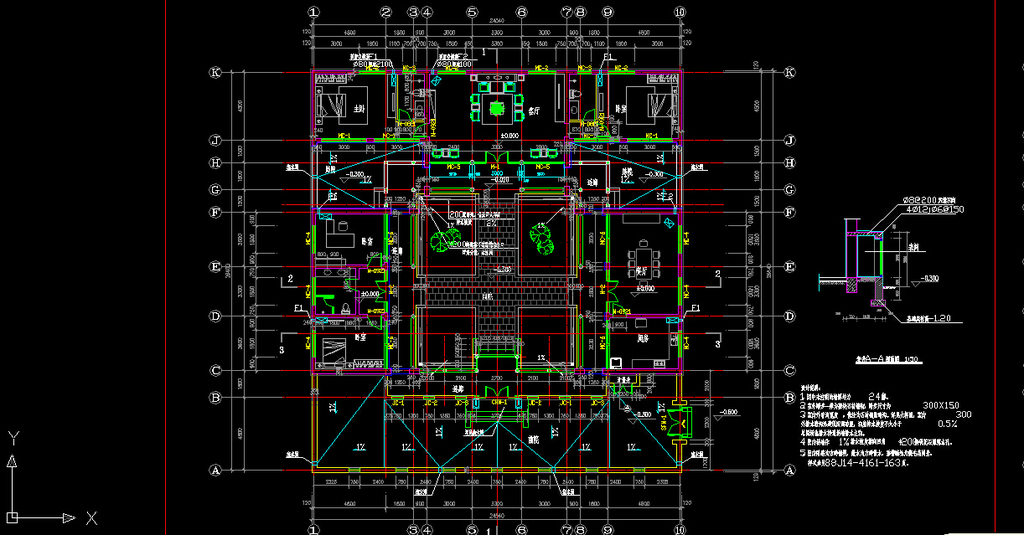 设计 建筑/单层北京四合院建筑CAD图纸设计