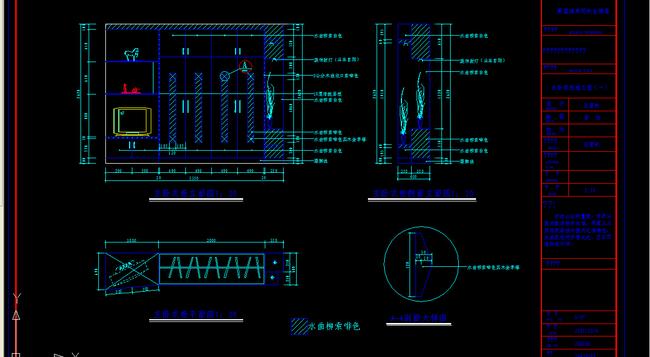 内部结构图 衣柜设计装饰设计