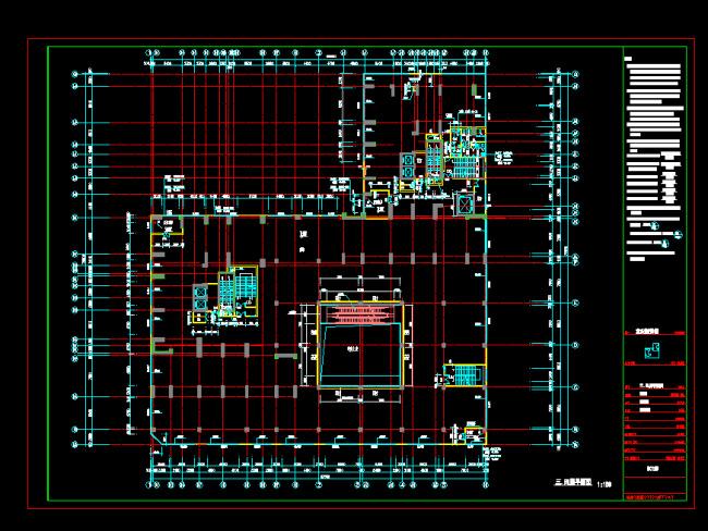 小区建筑设计cad施工图