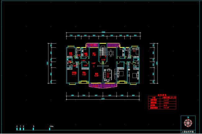 宽12米x长9米的房屋平面设计图展示