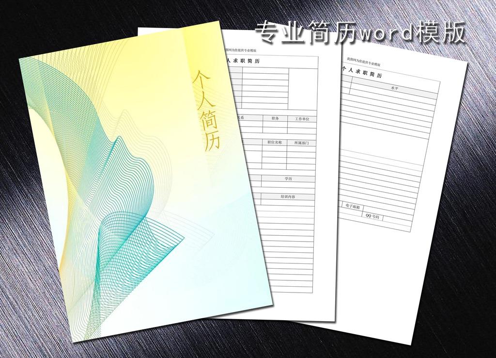 会计专业简历模板word下载图片