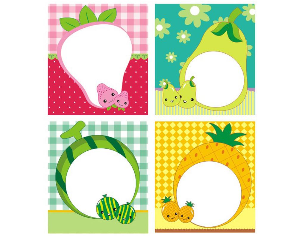 卡通水果相册模板下载 卡通水果相册图片下载 卡通水果相册 水果宝宝