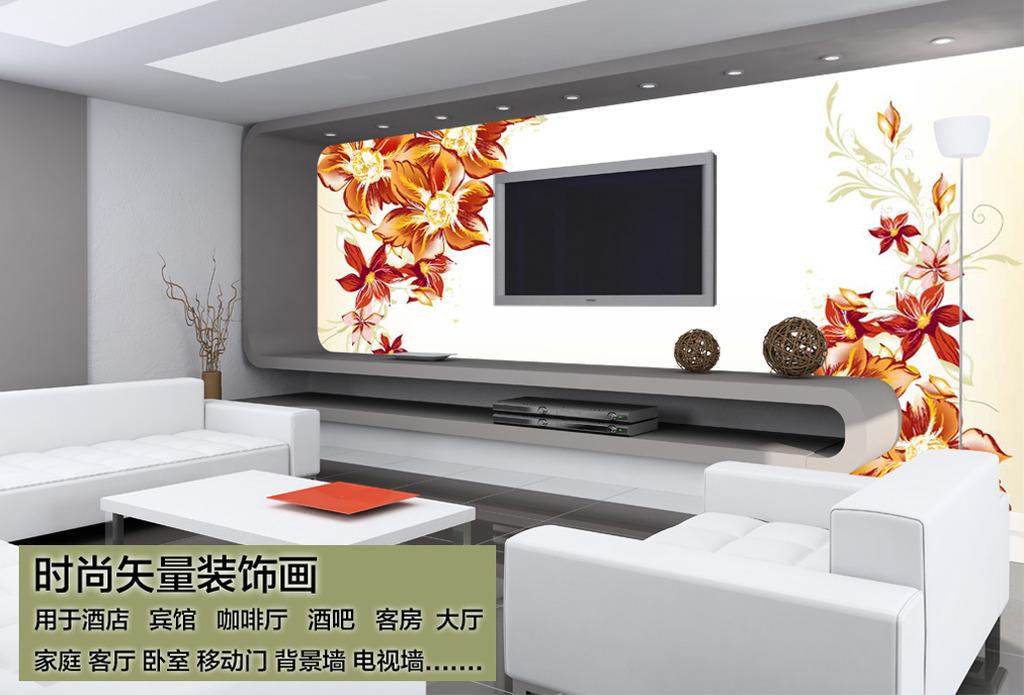 客厅背景墙图片模板下载(图片编号:12208201)