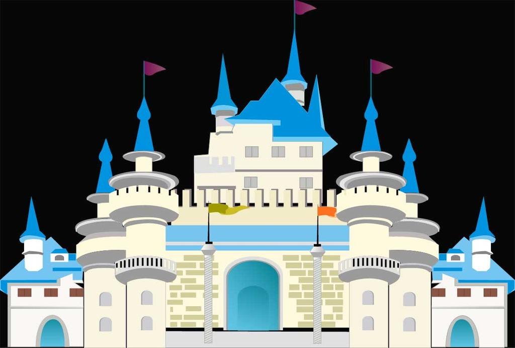 城堡设计图片