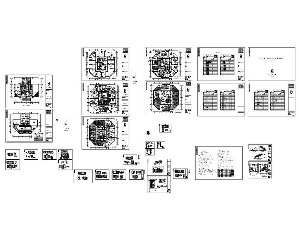 办公楼室内装修_cad图纸设计下载模板下载