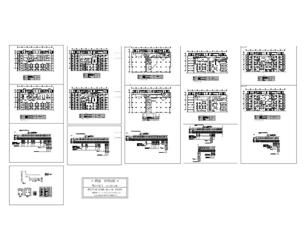 酒店厨房电气图纸cad图纸设计下载模板下载