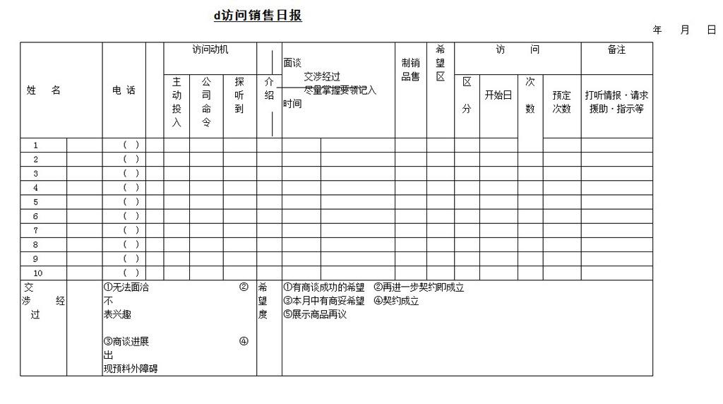 word模板下载word表格