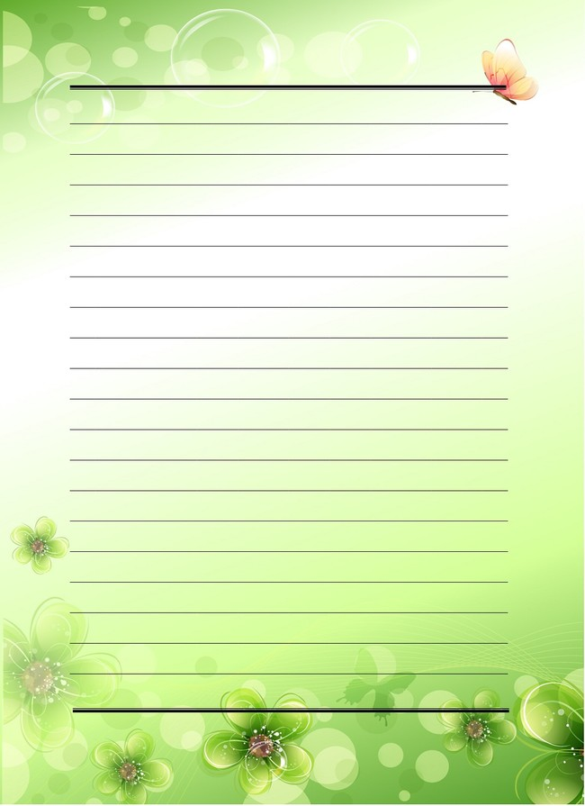 办公|ppt模板 word模板 信纸背景 > 梦幻花纹底纹信纸  下一张&图片
