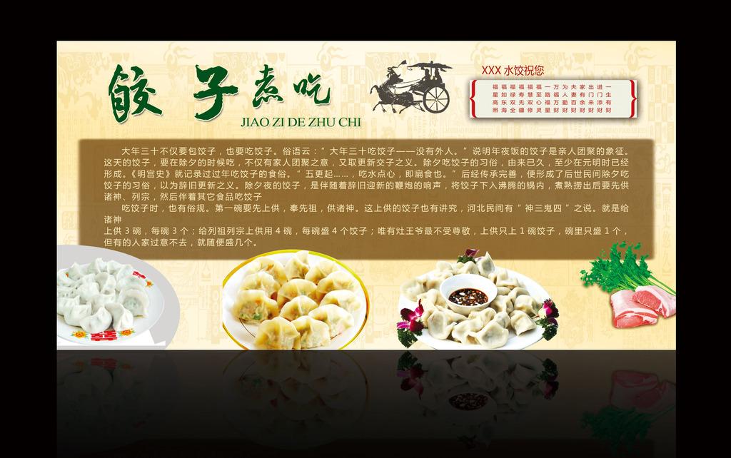 饮食文化展板设计模板下载(图片编号:12217996)