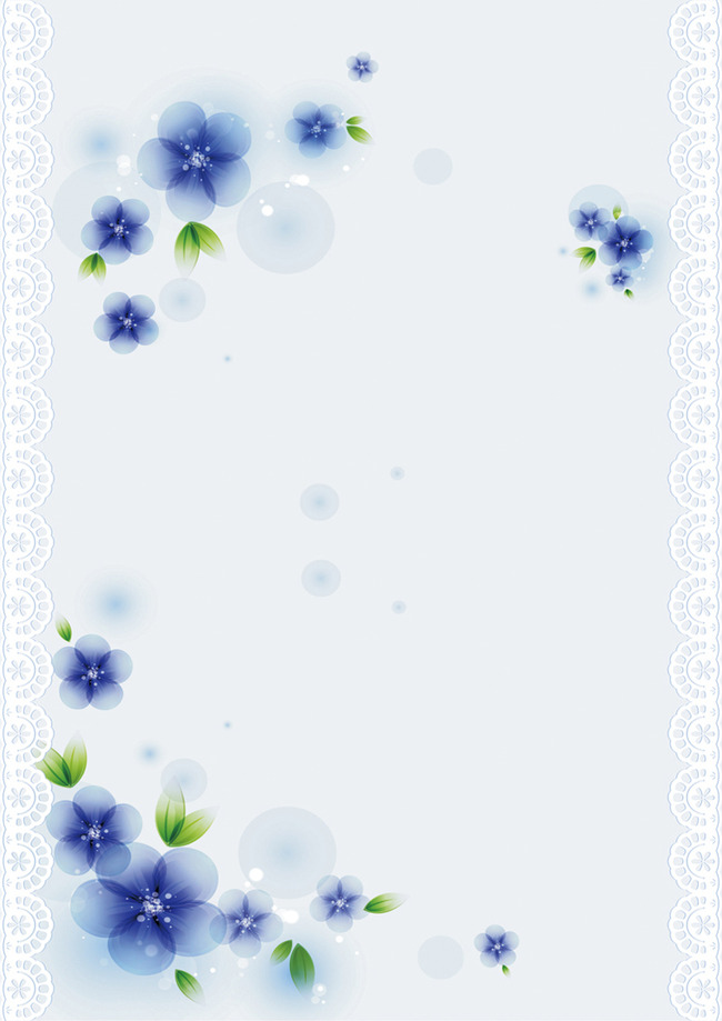 信纸下载 蓝色背景 蓝色背景信纸 信纸 梦幻背景信纸 背景图 word图片