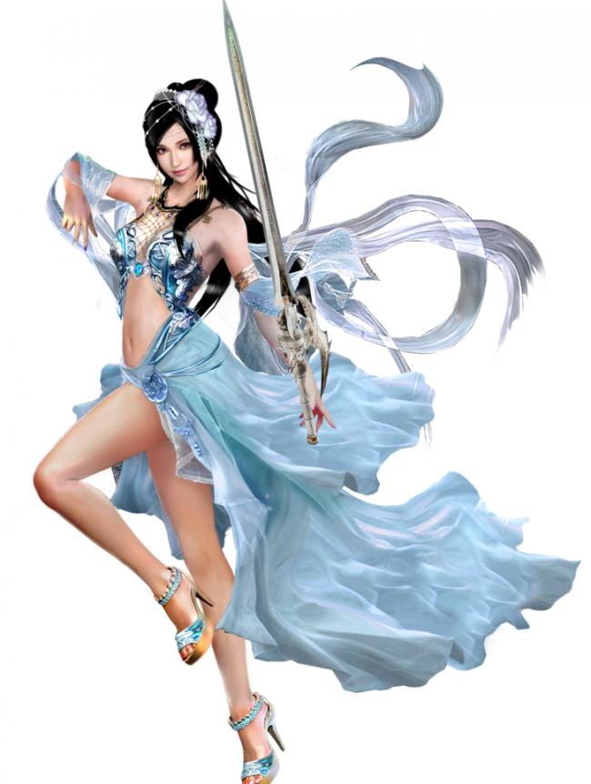 女剑士 游戏美女